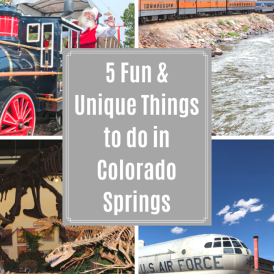 5 Fun & Unique Things to do for Families in Colorado Springs