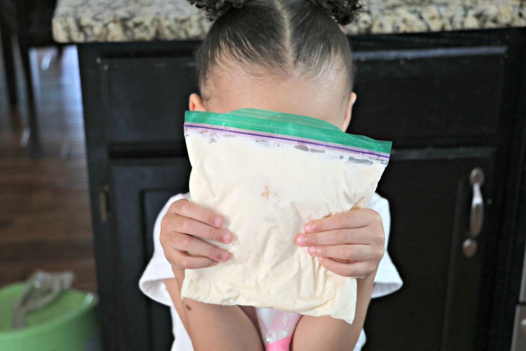 Kid Recipe: Homemade Ice Cream in a Bag