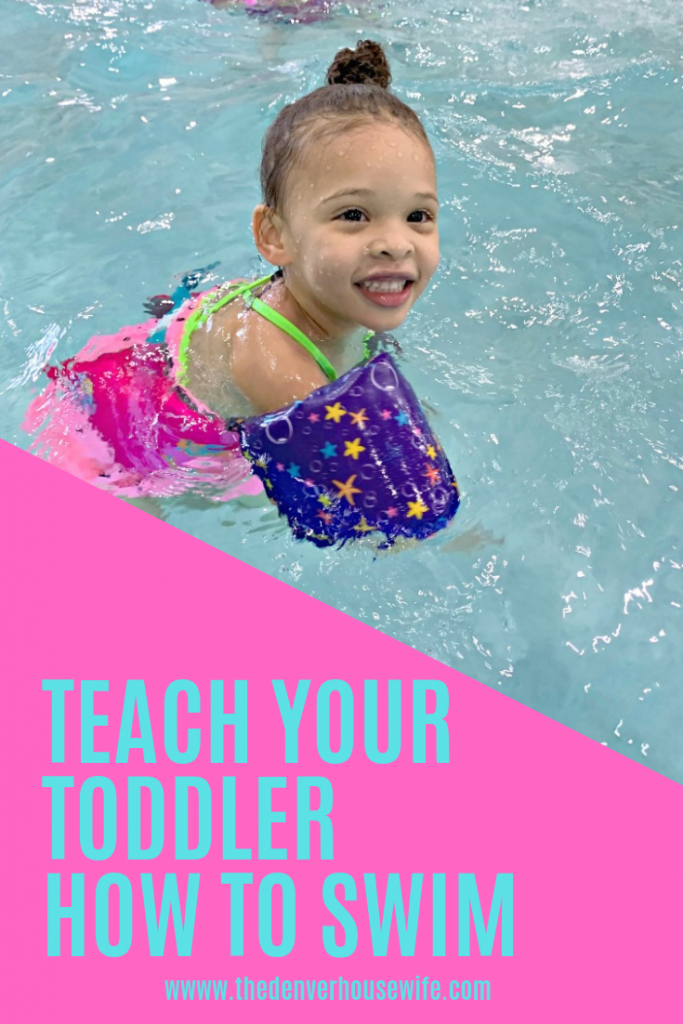 Teach Your Toddler How to Swim