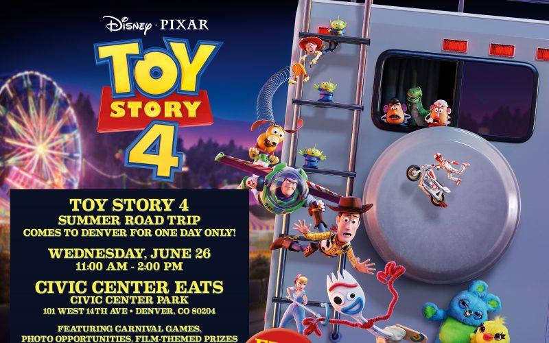 Toy Story 4 RV in Denver