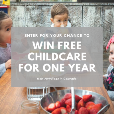 MyVillage Video Contest Offers Chance to Win a Year of Free Childcare