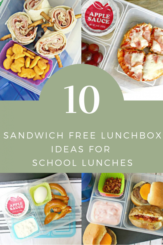 Sandwich Free Lunches for Kids