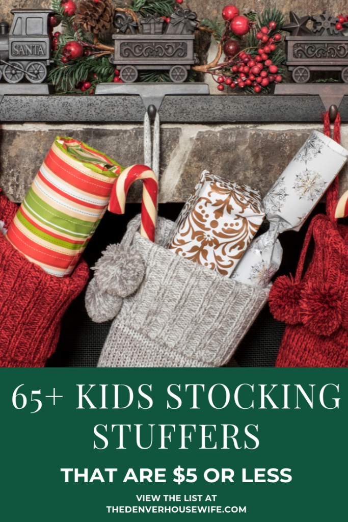 65+ Kids Stocking Stuffers for under $5