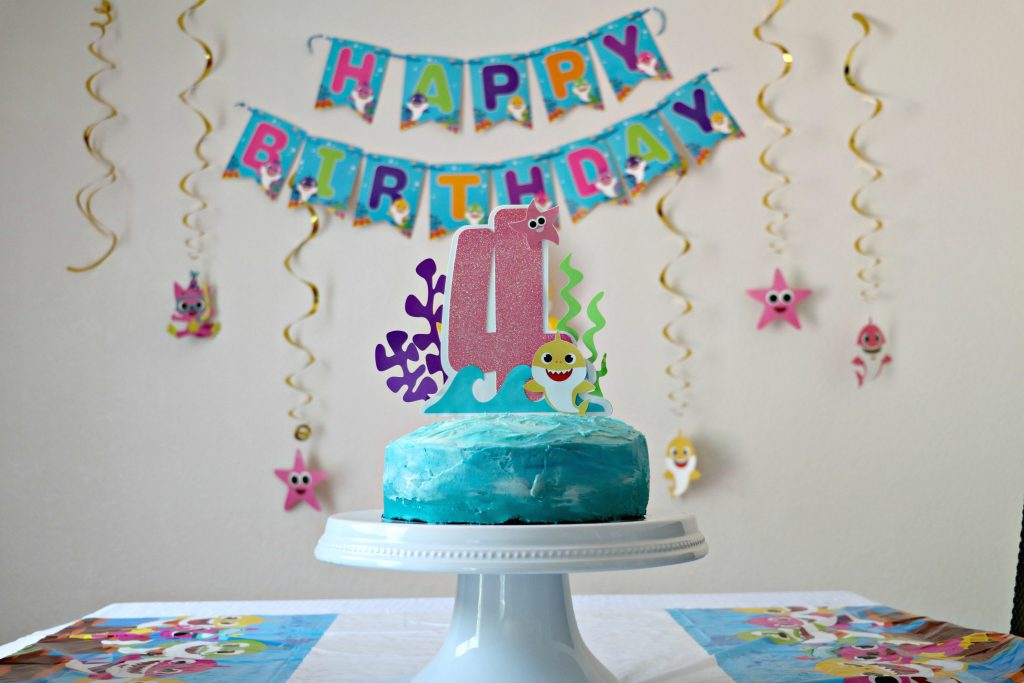 Baby Shark Birthday + How to Make Your Own Party Hat ...