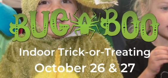 bug-a-boo trick or treat event at butterfly pavillion