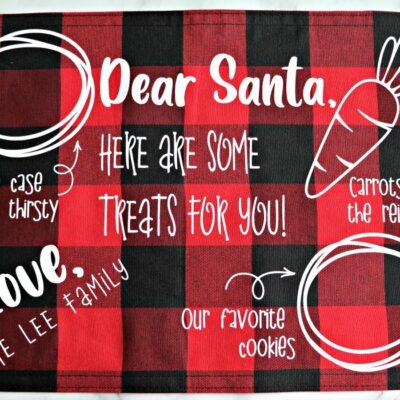 Santa Cookies Tray – FREE SVG
