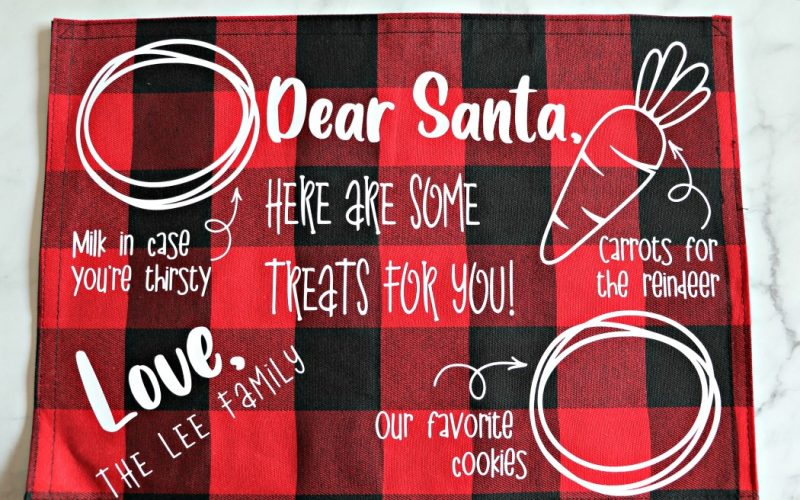 Santa Cookies Tray – FREE SVG
