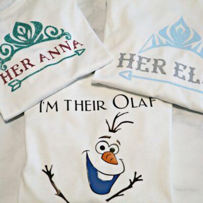 Disney Frozen Sibling Shirts