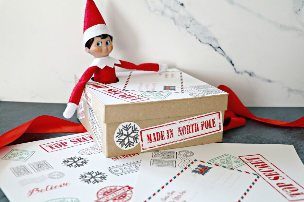 Elf on The Shelf Arrival Ideas Box