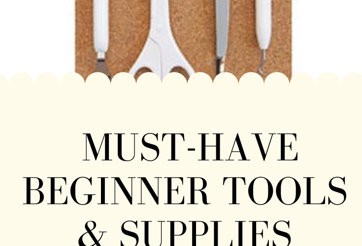 Must-Have Beginner Tools & Supplies for your Cricut Explore Air 2