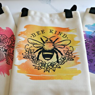 Cricut Infusible Ink & Iron-On Layered Canvas Totes