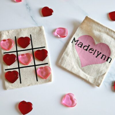 Cheap & Easy DIY Class Valentine's: Tic Tac Toe Bags