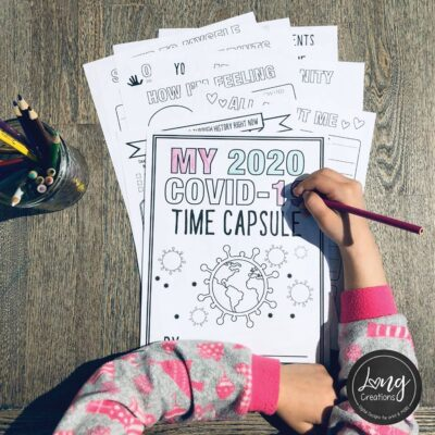 COVID-19 Time Capsule Journal for Kids