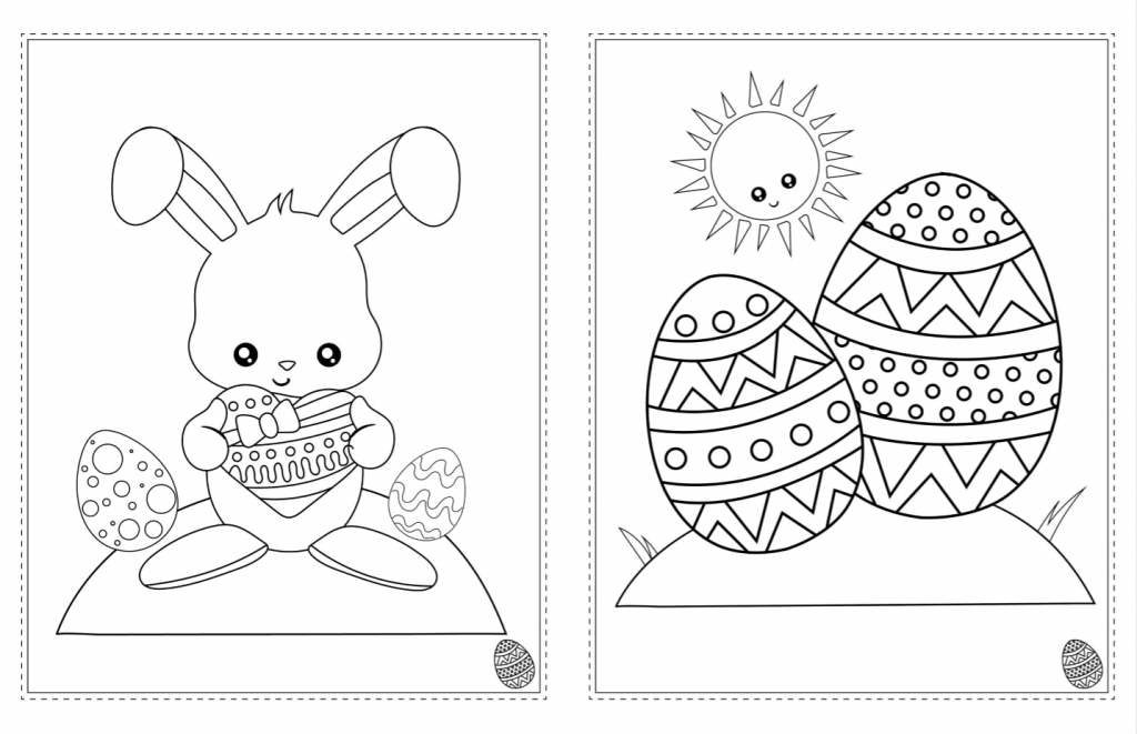 Free Easter Coloring Book Printable! » The Denver Housewife