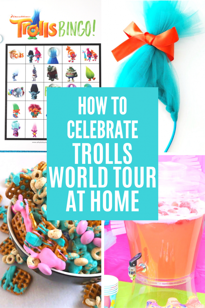 How to Celebrate Trolls World Tour at Home