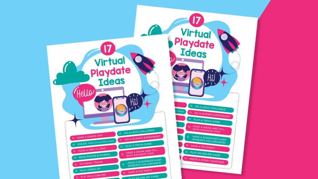 virtual play date ideas for kids