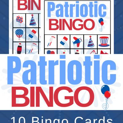 Free Printable Patriotic Bingo Cards for Kids