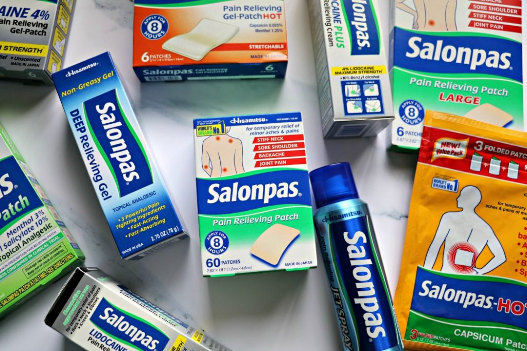 Salonpas Giveaway Review