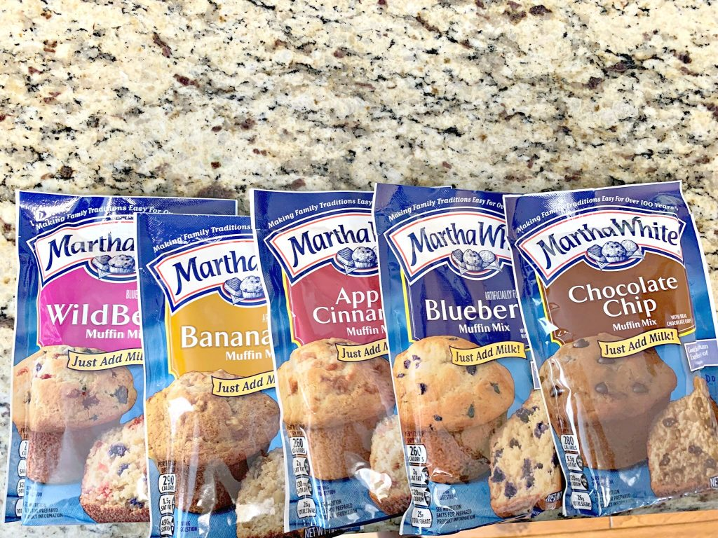 martha White muffin mix pancakes