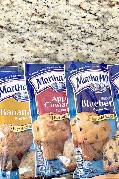 3 Ingredient Muffin Mix Pancakes