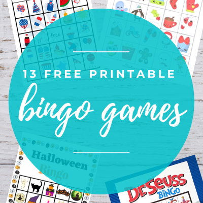 Free Bingo Game Printables for Kids