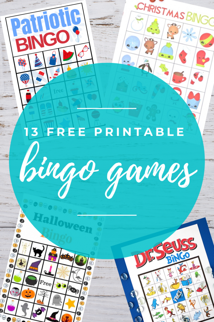 13 Free Printable Bingo Games
