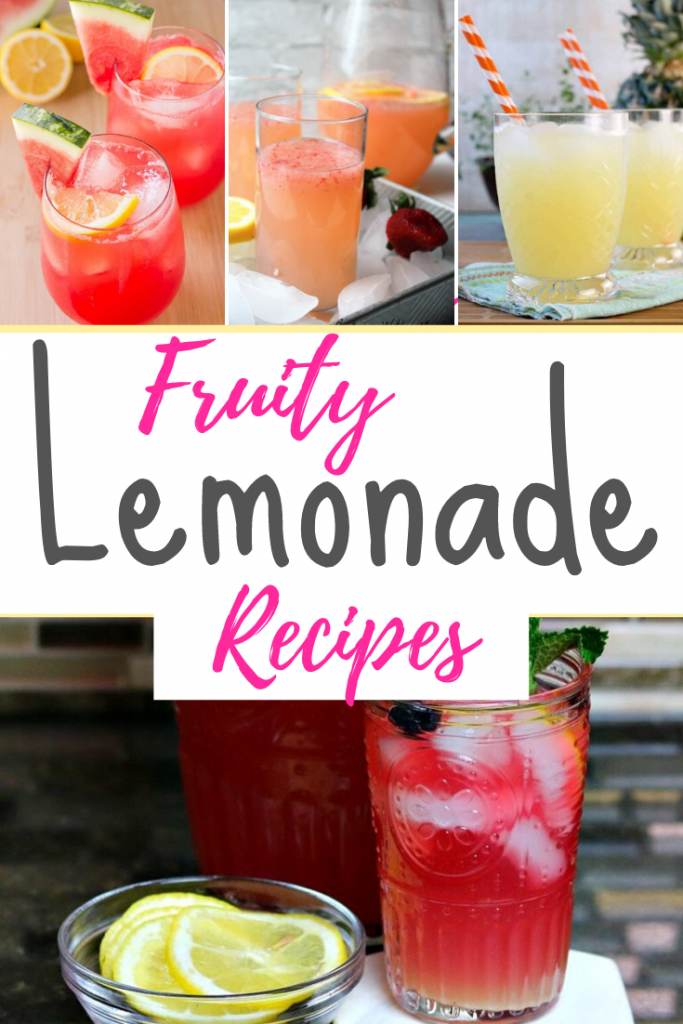 Fruity Lemonade Recipes
