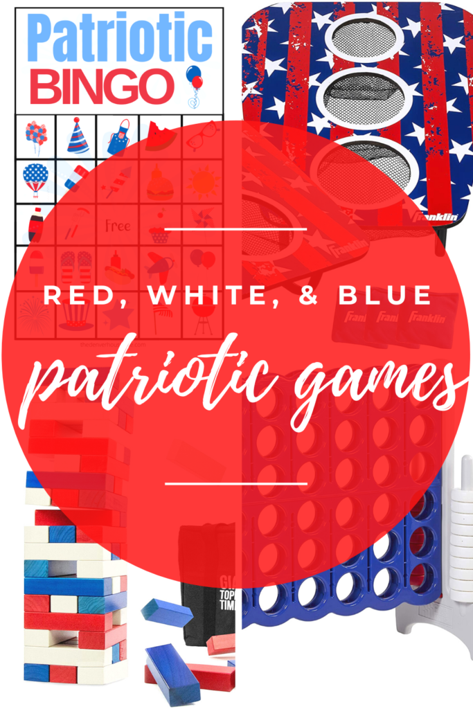 Red White and Blue Patriotic Games