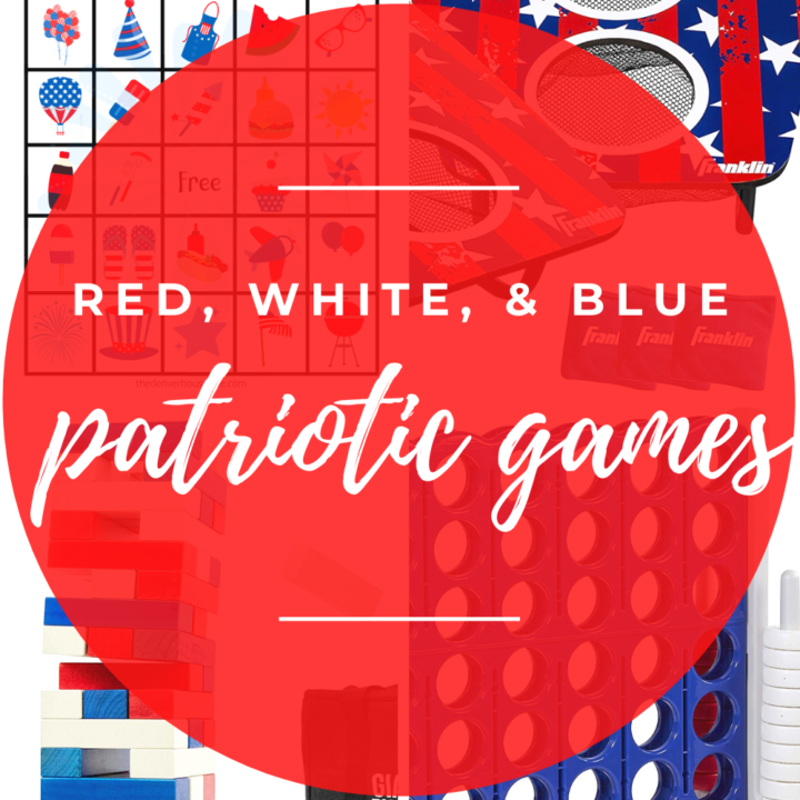 Red, White, and Blue  Patriotic Games