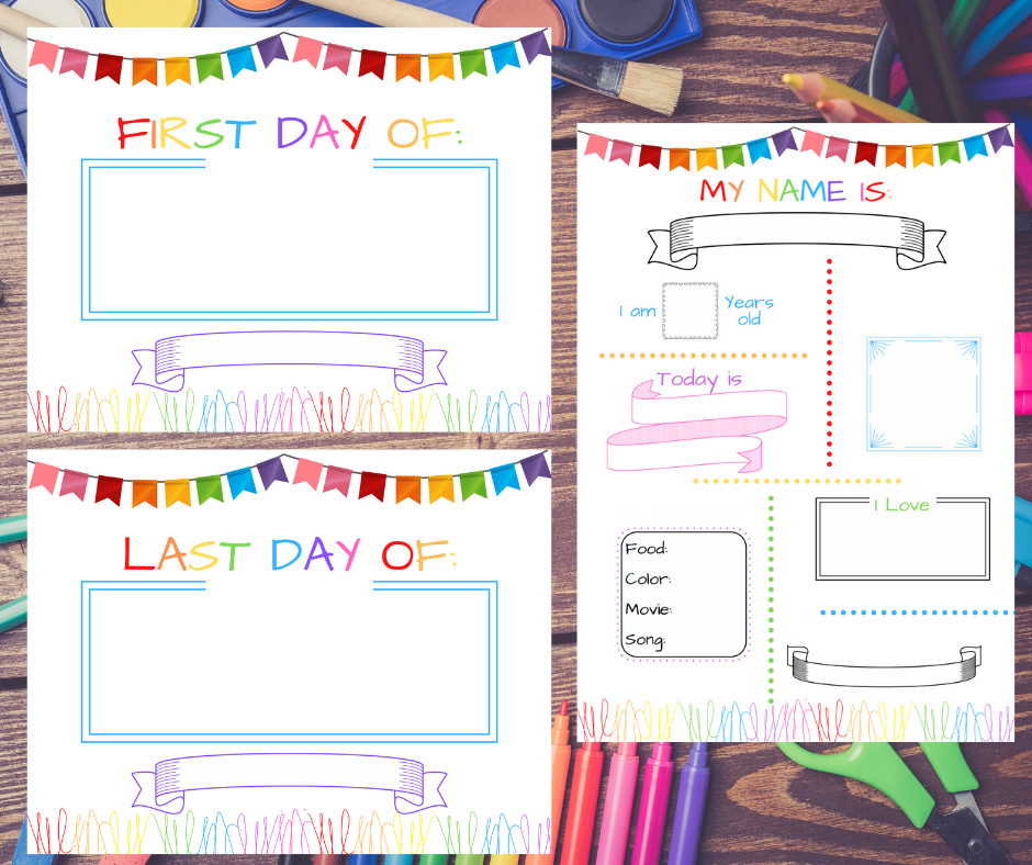 free back to school printable chalkboard all about me