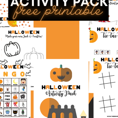 Halloween Activity Pack Free Printable