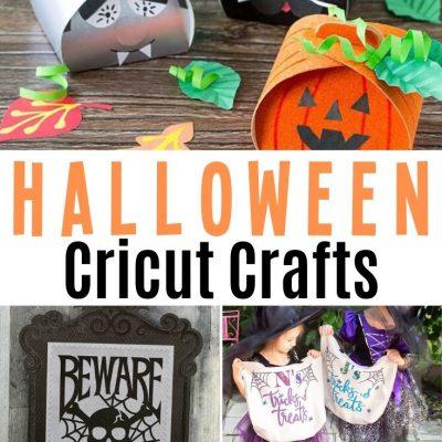 Cricut Halloween Crafts