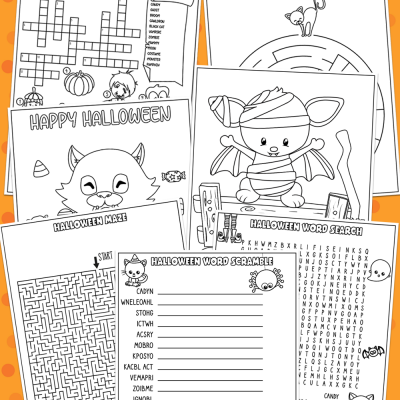 Halloween Activity Pack for Kids