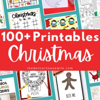 100 free printables for kids for christmas