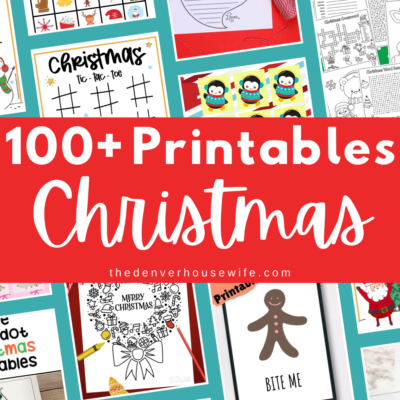 100+ Christmas Printables for Kids