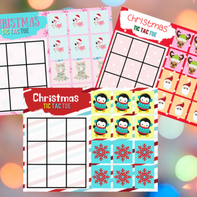 Cute Christmas Tic Tac Toe Game