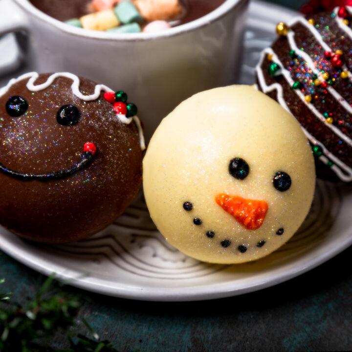 Christmas Hot Chocolate Bombs Flavors
