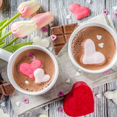 Valentine's Day Hot Chocolate Bomb Flavors