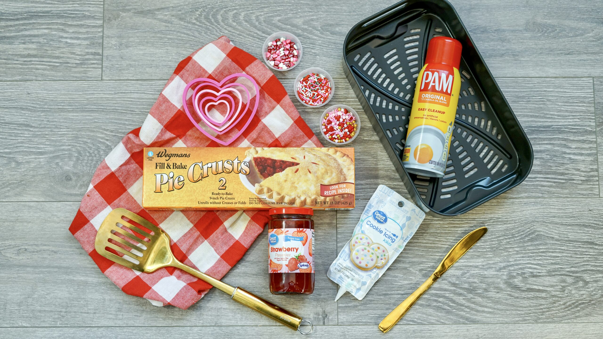 Air Fryer Pop-Tart Ingredients