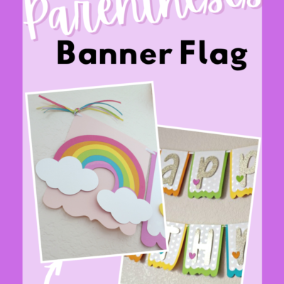 parentheses banner flag