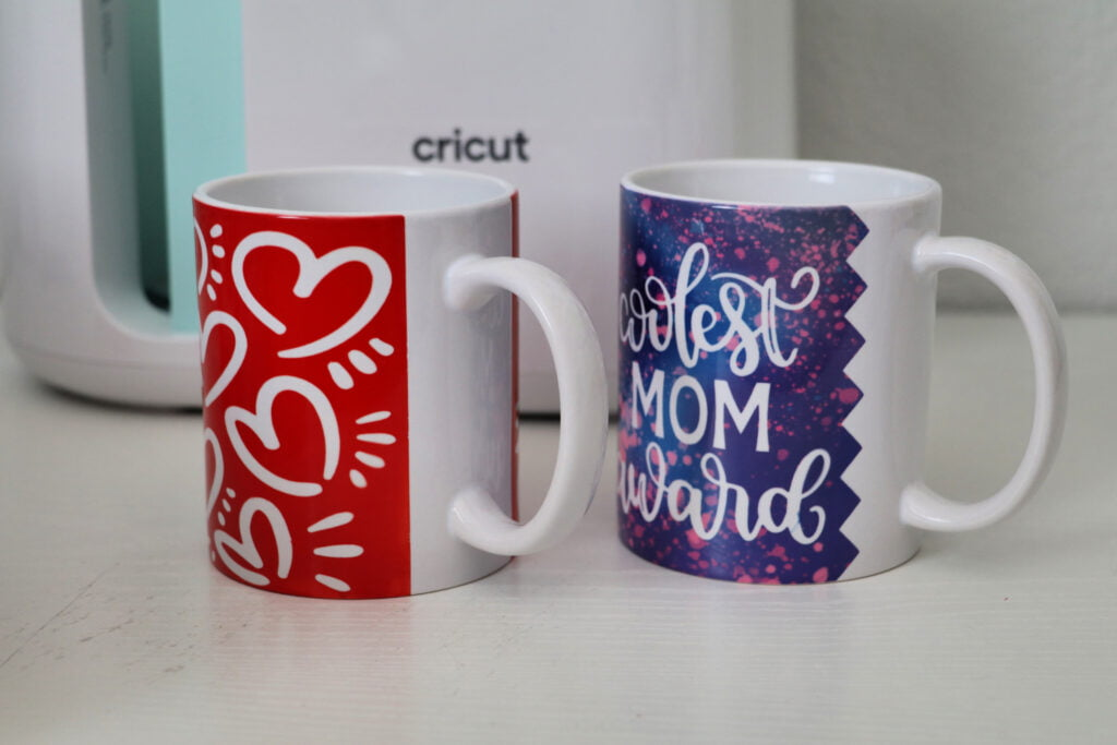 cricut mug press edges