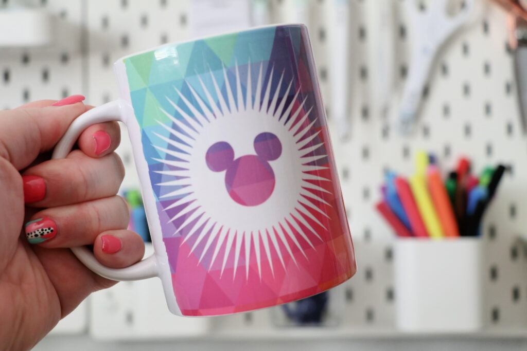 disney infusible ink mug