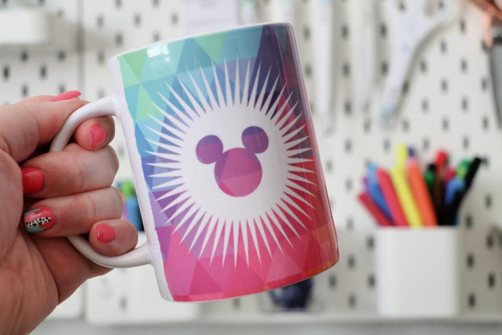 disney infusible ink mug