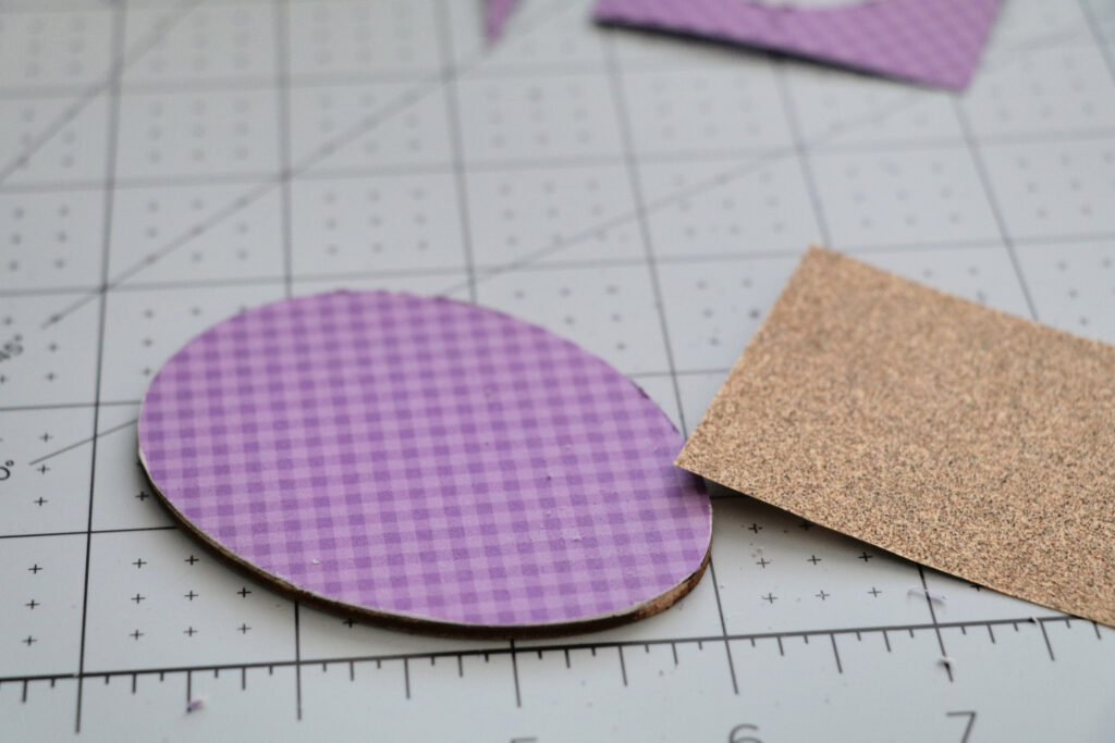 how to sand wood tag edges