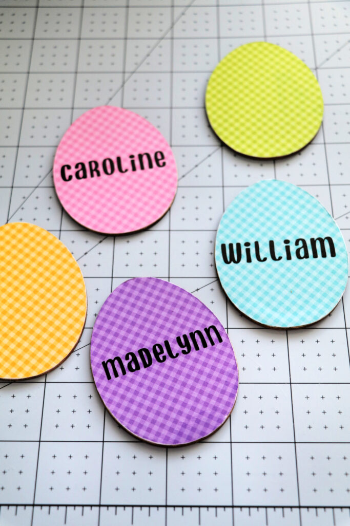 personalized easter basket tags