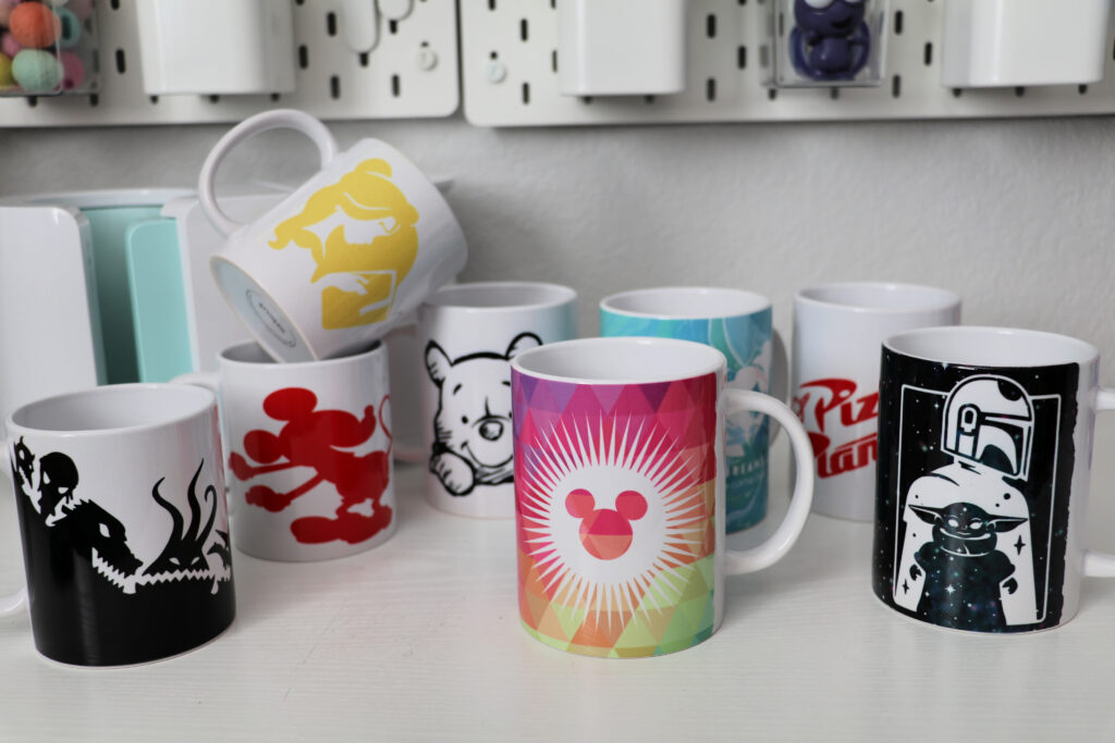 Disney Cricut Mugs