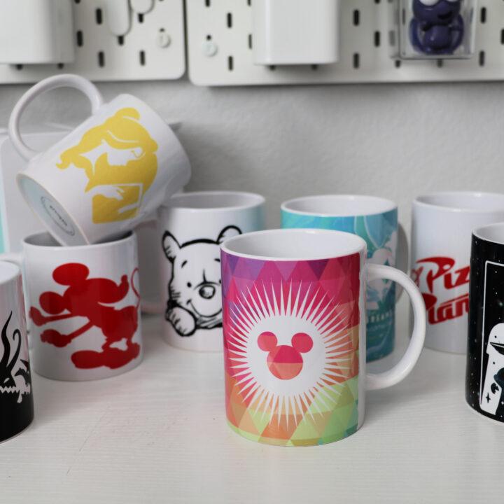 8 Cricut Disney Mugs to Make