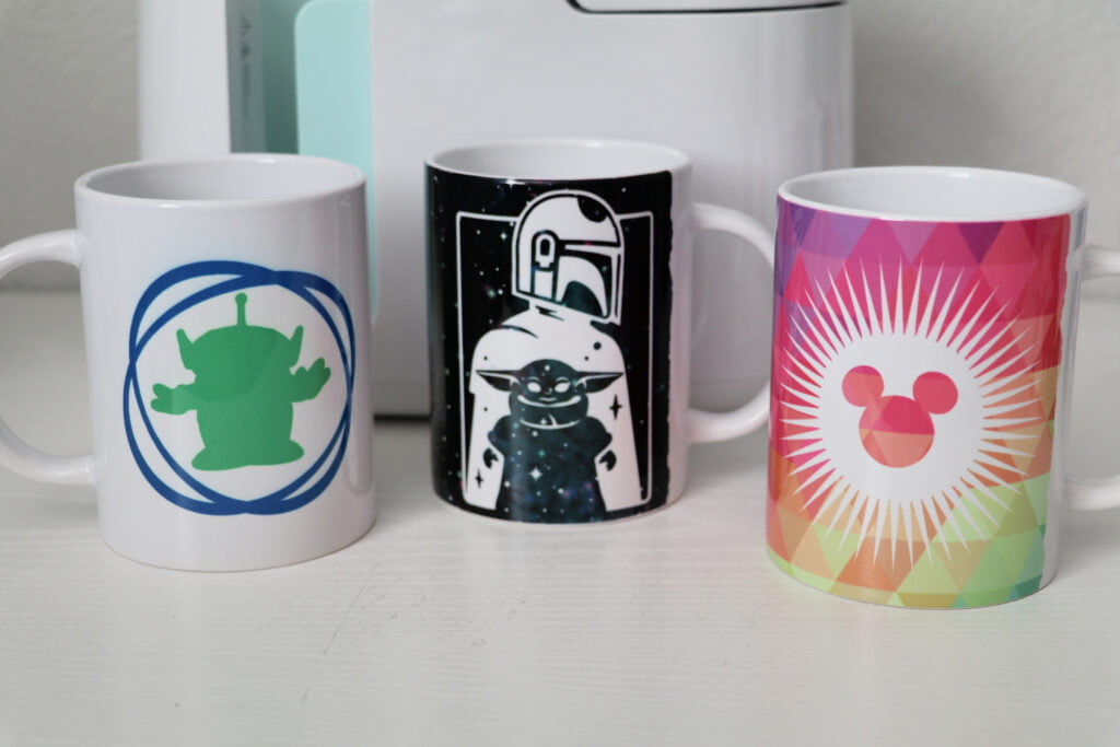 Disney Infusible Ink Mugs
