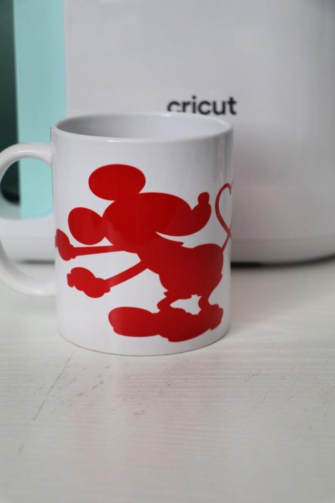 Mickey and Minnie Cricut Mug