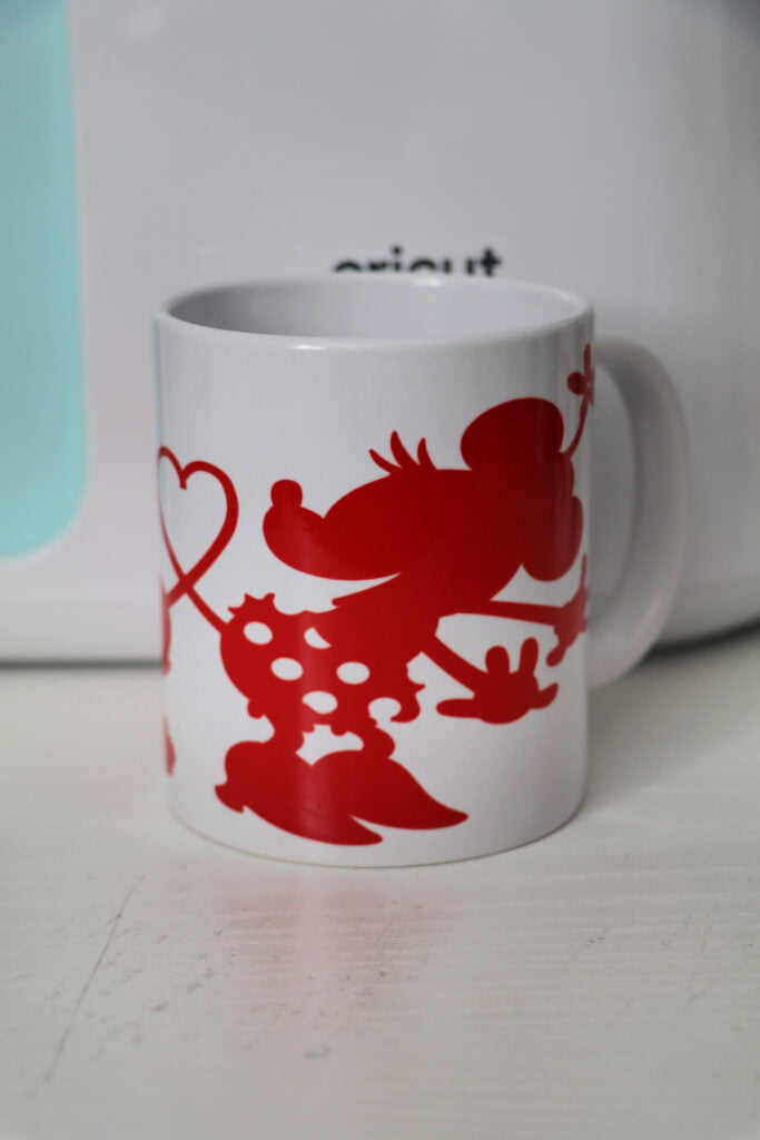 Minnie and Mickey Cricut Mug